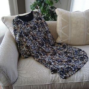Jones New York Long Sleeve Dress sz M